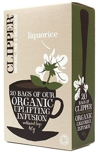 Clipper Organic Infusion Liquorice Tea